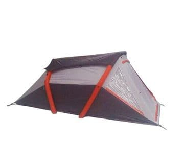 2 MAN INFLATABLE AIR TENT with PUMP and CARRY BAG camping caravan motorhome